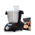 Opinión y precio del robot de cocina IKOHS CHEFBOT Compact – Robot de Cocina Multifunción, Compacto, Cocina al Vapor, 23 Funciones, 10 Velocidades con Turbo, Bol de Acero Inoxidable 2,3 L, Libre BPA (con Recetario – Negro)