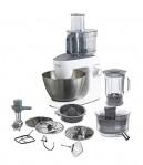 Opinión y precio del robot de cocina Kenwood KHH326 – Robot de cocina multifunción 1000 W, 4.3 L, mezcla, bate, amasa, batidora de vaso 1.5 L, procesador alimentos 1.4 L, 3 discos, exprimidor, picadora, licuadora, plata/blanco